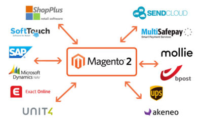 Magento ERP database payment provider connections webdevelopment agency baldwin