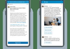 LinkedIn sponsored messaging