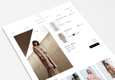 collectorsclub Magento2 fashion webshop design