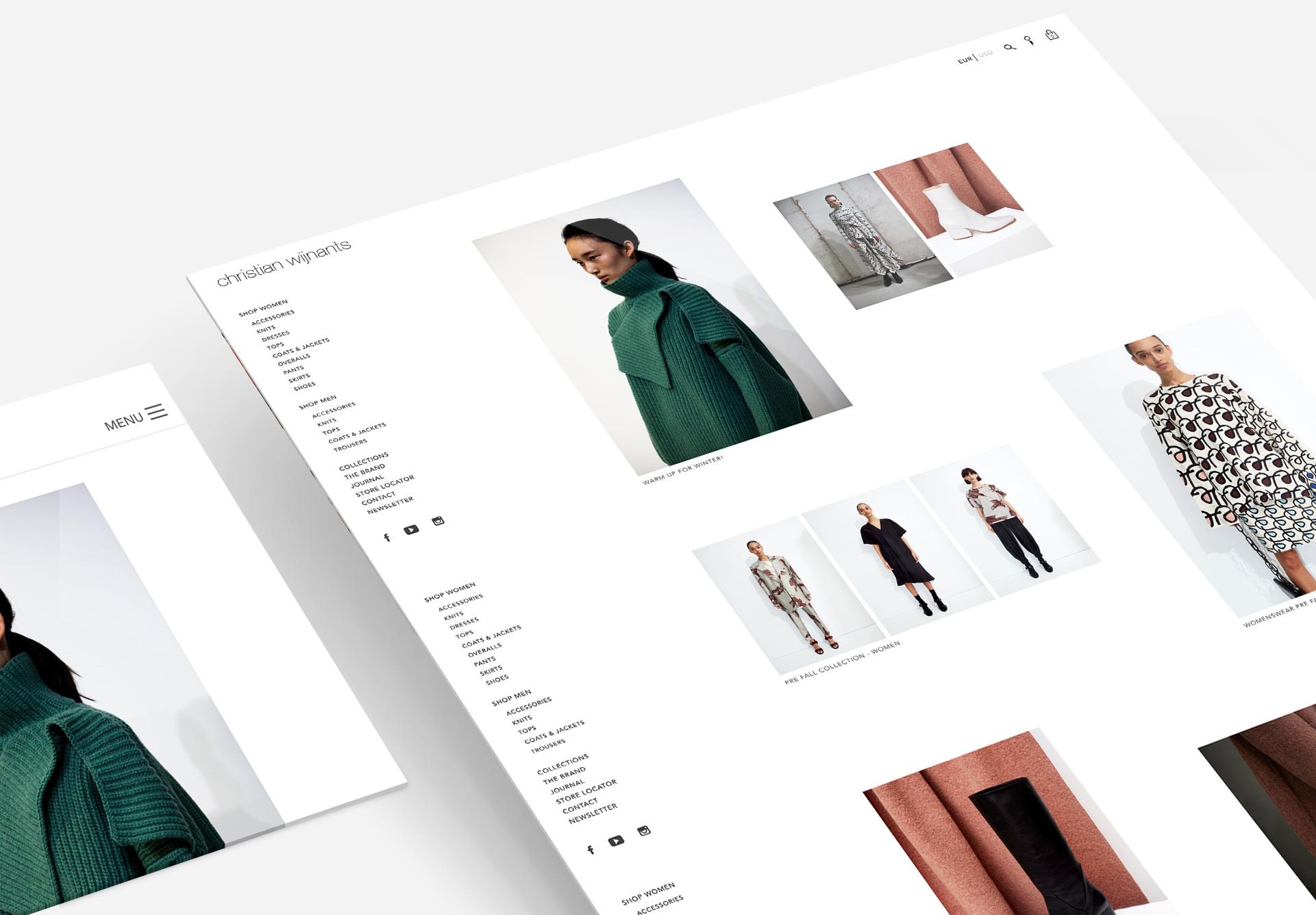 Christian Wijnants fashion designer